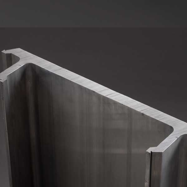 window door extruded aluminium profile