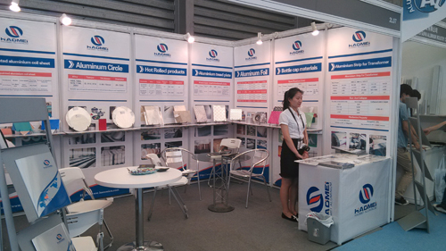 Haomei take part in Aluminum China