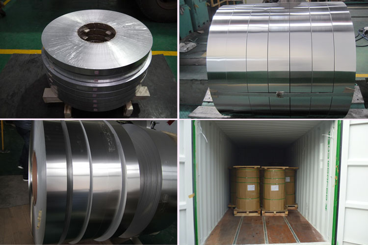 Packaging and Delivery of 1200 aluminum strip