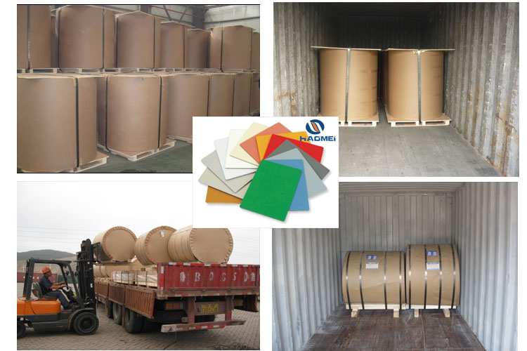3105Color Coated Aluminum Coil