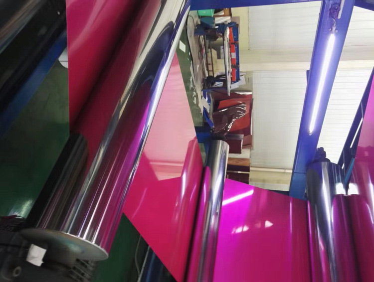 coclor coated aluminum