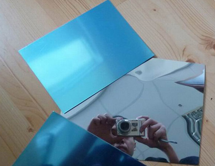 mirror alumium sheet metal