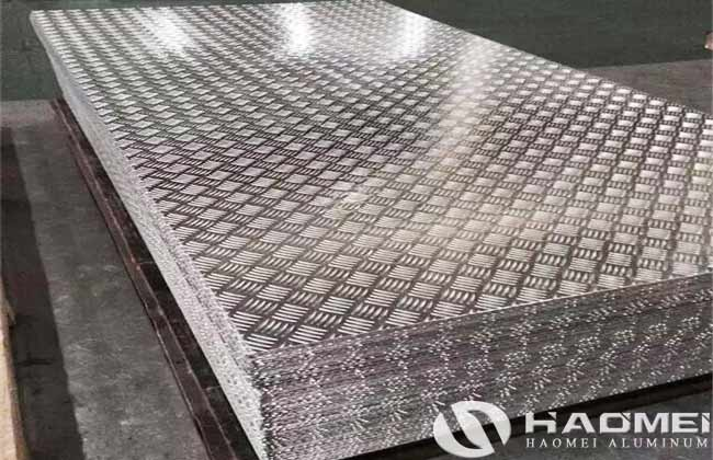 5 bar aluminum tread plate manufacturer