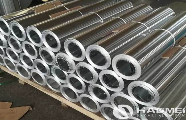 aluminum coil for thermal insulation