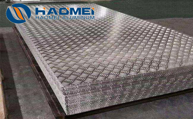 ribbed aluminium sheet
