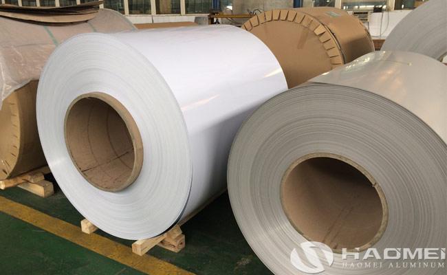 coated aluminum sheet